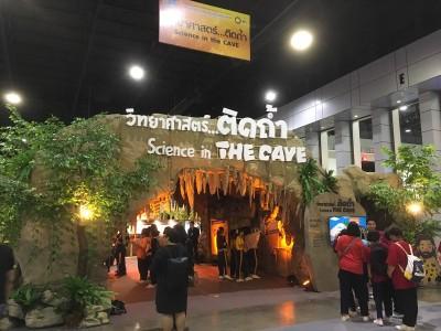 洞窟に関する展示