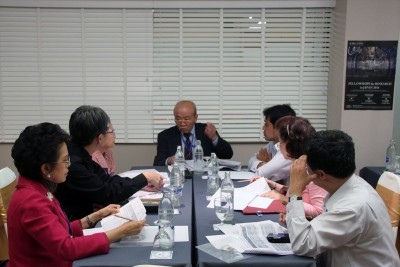 At EC meeting