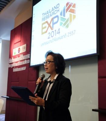 NRCT Office of International Affairs Director Ms. Pimpun Pongpidjayamaad
