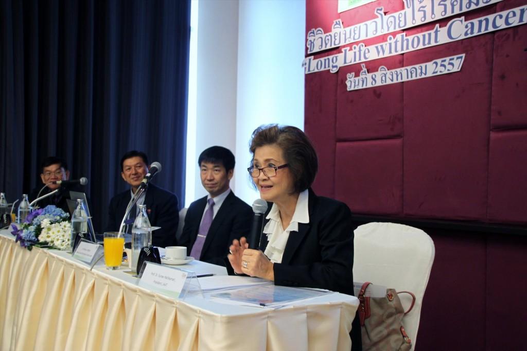 Dr. Sunee, President of JAAT