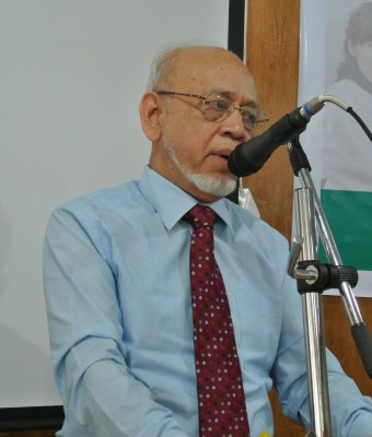 Vice-chancellor Prof. Dr. Md. Rafiqul made speech.