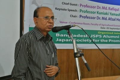 Prof. Dr. M. Hossain mae closing remark
