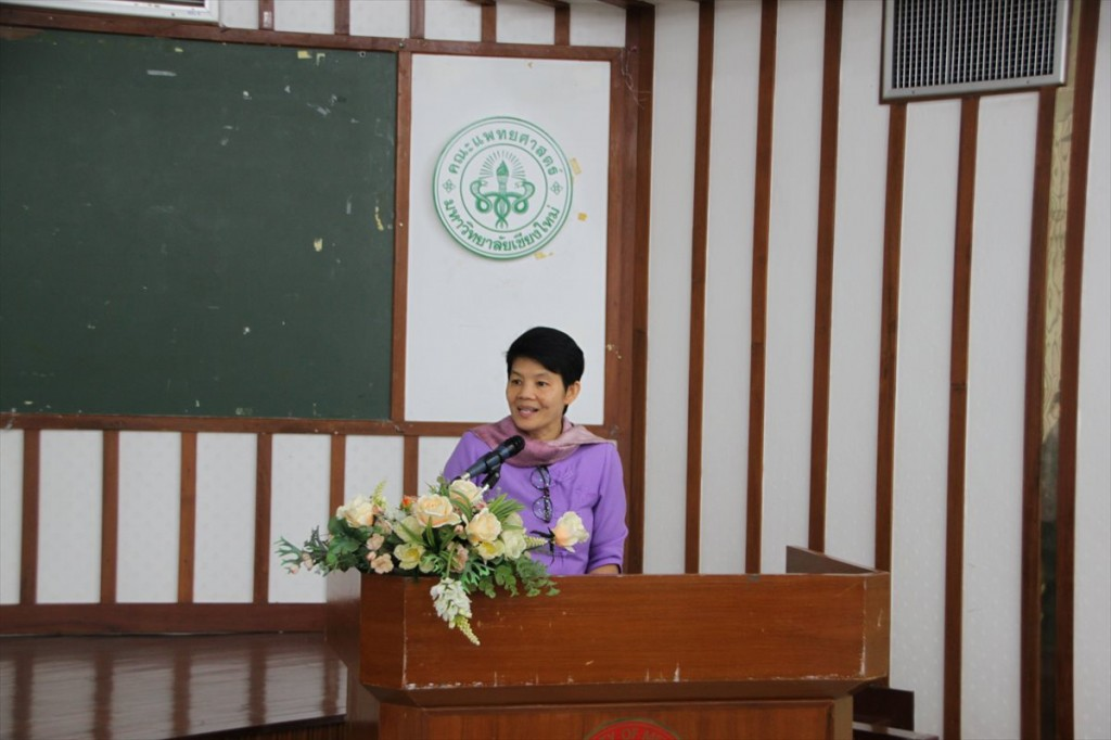 Assoc. Prof. Avorn Opatpatanakit, Vice President for Research and Academic Services