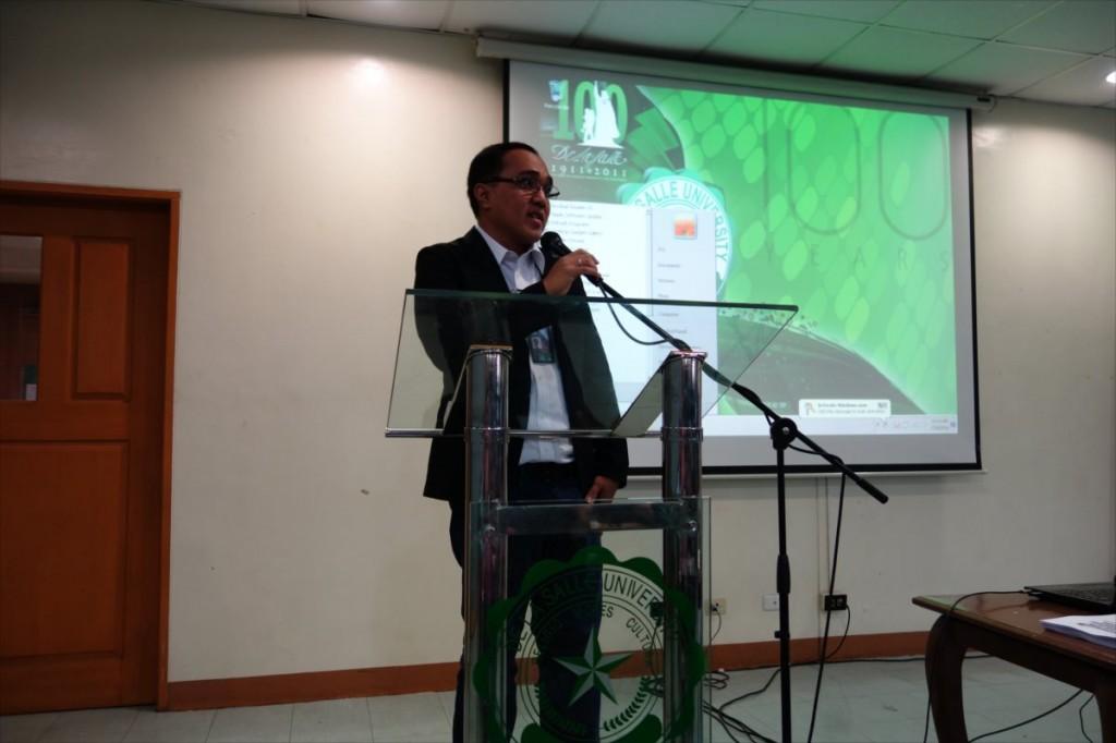 Assoc. Prof. Jonathan R. Dungca