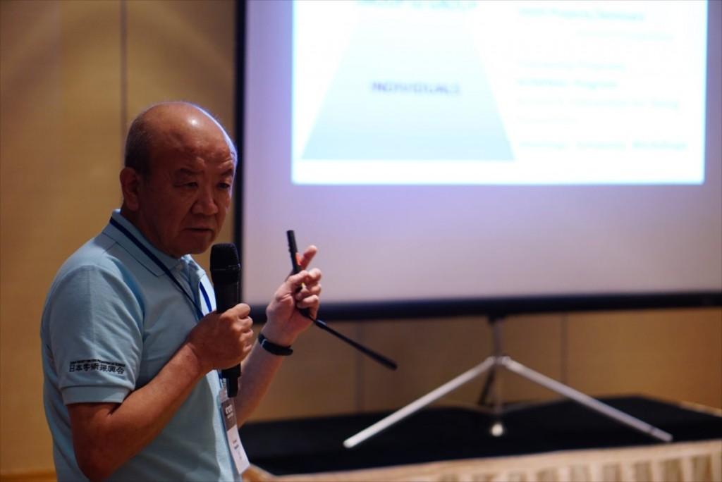 Prof. Kuniaki Yamashita, Director of JSPS Bangkok Office