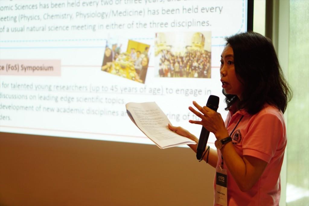 Ms. Noriko Furuya, Deputy Director of JSPS Bangkok Office
