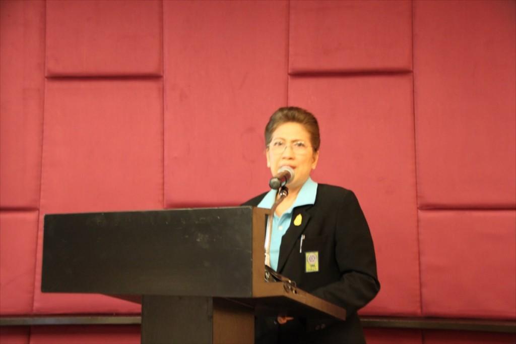 Ms. Yossavadee Ungvichian, Senior Advisor of NRCT