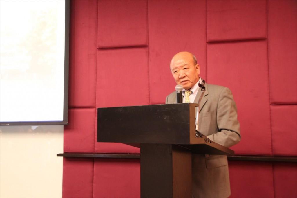 Prof. Yamashita Kuniaki, Director of JSPS Bangkok Office