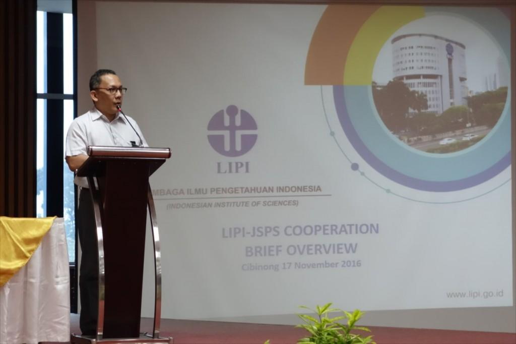 Dr. L. T. Handoko, LIPI