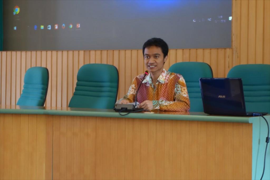 Dr. Danang Sri Hadmoko, Vice Director of Gadjah Mada University