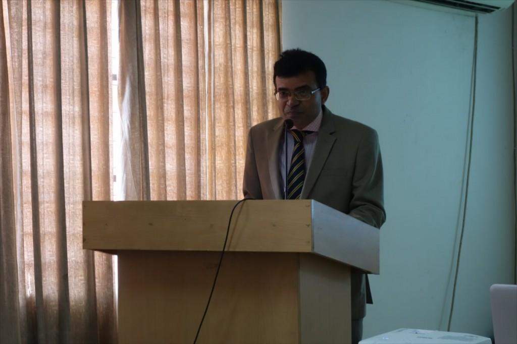 Prof. Dr. Roy of SAU