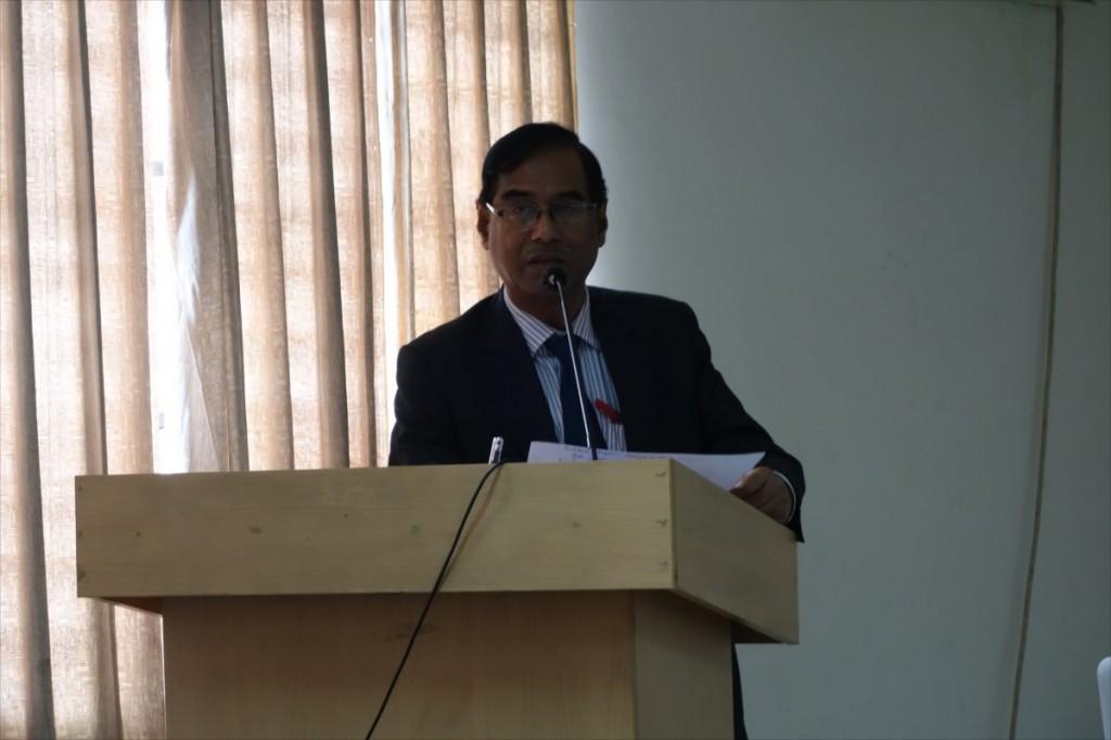Prof. Dr. Ahamed, Vice-Chancellor of SAU
