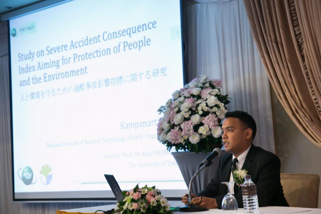 Presentation by Dr. Kampanart