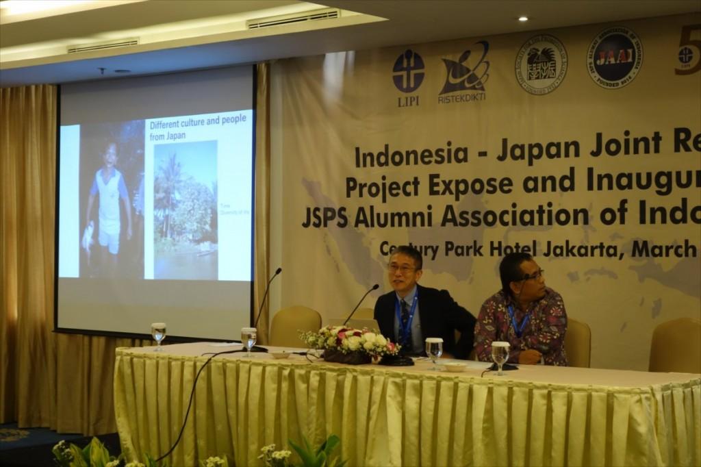 Prof. Dr. Mitsuyasu Hasebe and Dr. Iin Kurnia