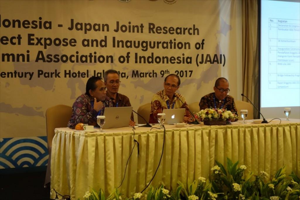 Dr. Wahyu, Dr. Subyakto and Dr. Hadi Susilo Arifin