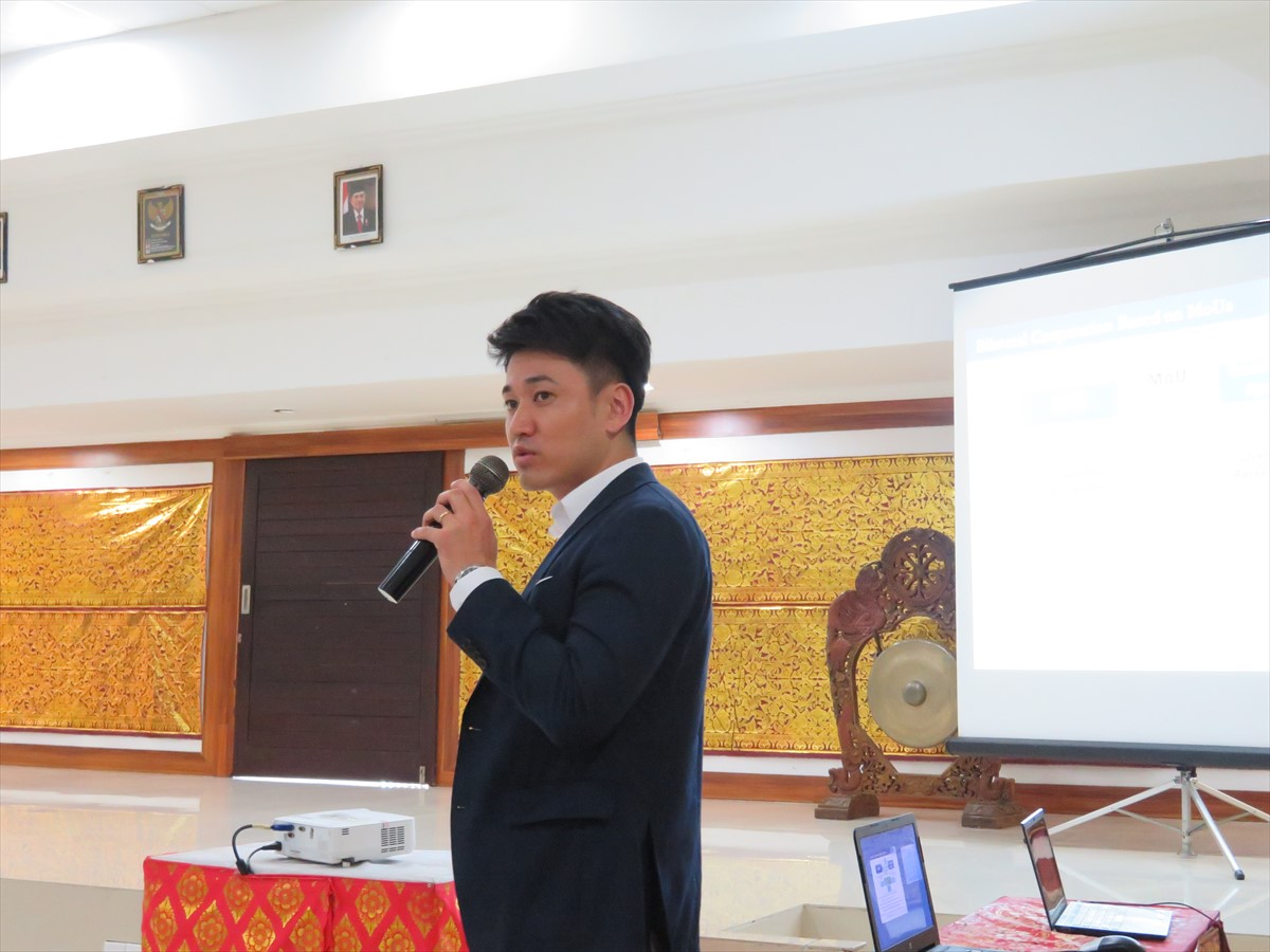 Mr. Kohei Saito, International Program Associate, JSPS Bangkok Office