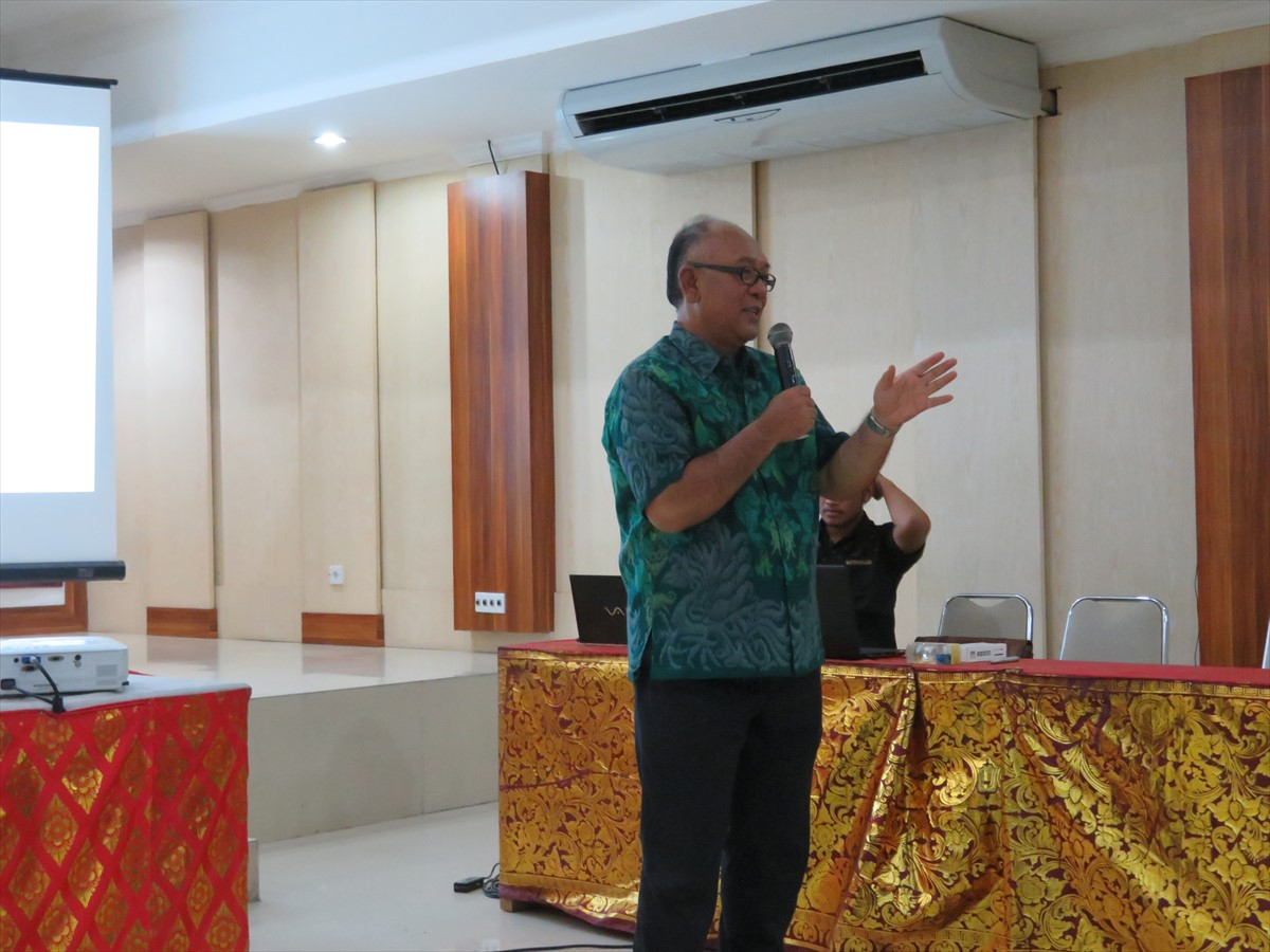 Dr. I Gede Putu Wirawan, Head of Central Laboratory for Genetic Resources, Udayana University