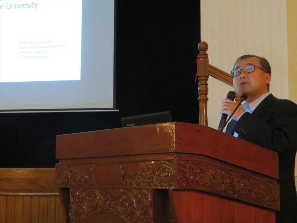 Dr. Mutsuaki Suzuki, Director, Intellectual Property Unit, National Institute of Genetic