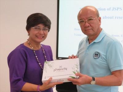 Assoc. Prof. Chayaporn Wattanasiri and Prof. Yamashita
