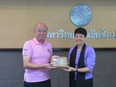 Prof. Yamashita and  Assoc. Prof. Avorn Opatpatanakit