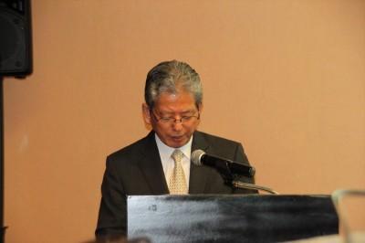 Dr. Susumu Satomi, President of JSPS