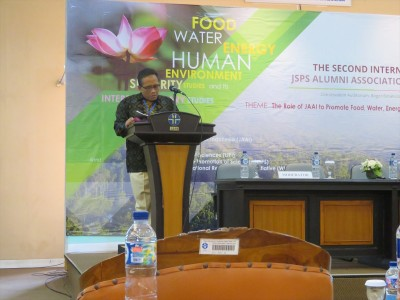 Dr. Iin Kurnia, Chairman of the symposium