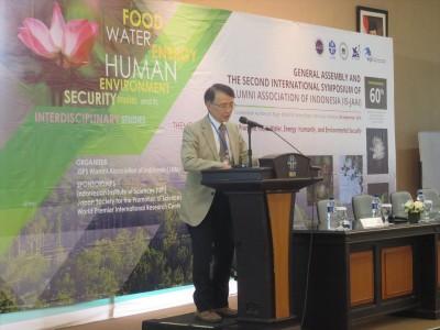 Mr. Kato, Advisor for International Affairs, JSPS