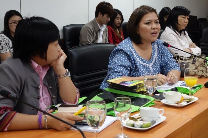 ผู้เข้าร่วมสัมมนาต่างแลกเปลี่ยนมุมมองในการวิจัยที่ประเทศญี่ปุ่น