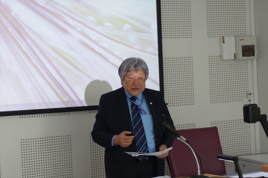 Prof. Konuma Hiroyuki, Director of Meiji University ASEAN center
