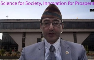 Dr. Sunil Babu Shrestha, Vice Chancellor of Nepal Academy of Science and Technology